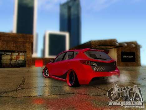 Mazda Speed 3 2010 para GTA San Andreas left