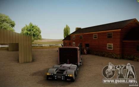 Mack Pinnacle Rawhide Edition para la visión correcta GTA San Andreas
