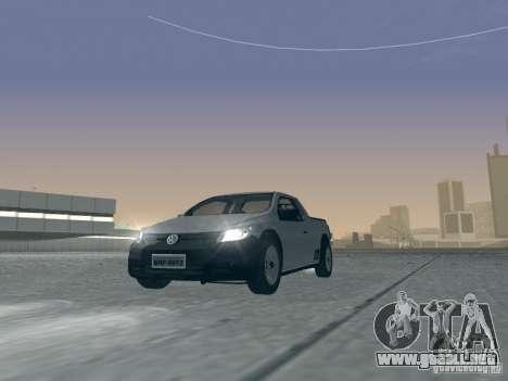 Volkswagen Saveiro 1.6 2009 para visión interna GTA San Andreas