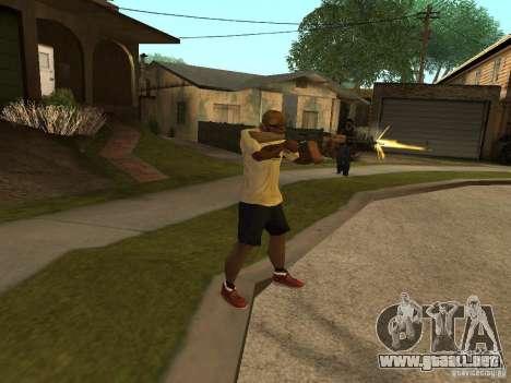 AK-74 del Arma II para GTA San Andreas tercera pantalla