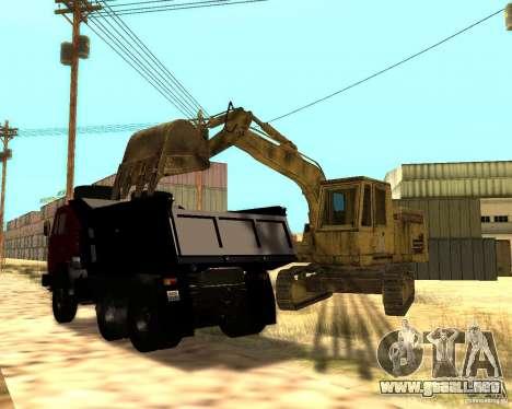 Excavadora para GTA San Andreas