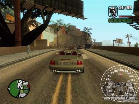 Spyder Cambriocorsa para la visión correcta GTA San Andreas