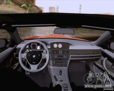 BMW M3 GT-S Fixed Edition para vista lateral GTA San Andreas