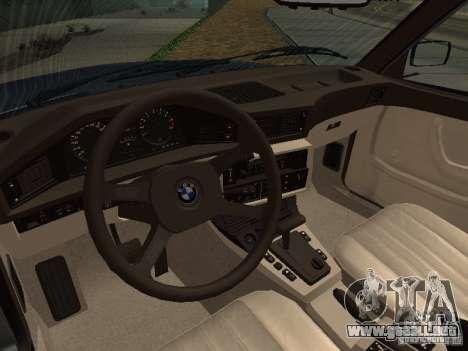 BMW 535is E28 para GTA San Andreas left