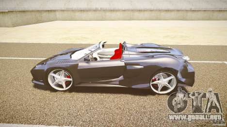 Ferrari F430 Extreme Tuning para GTA 4 Vista posterior izquierda