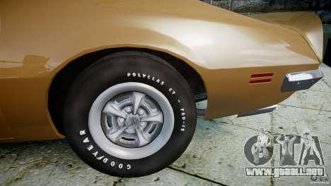 Pontiac Firebird 1970 para GTA 4 visión correcta