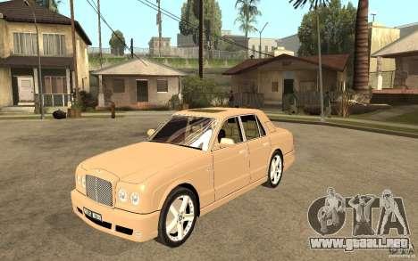 Bentley Arnage para GTA San Andreas