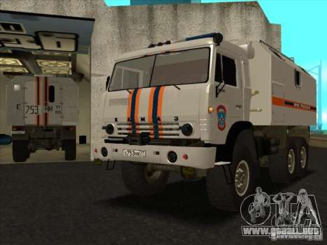 KAMAZ MES versión 2 para GTA San Andreas