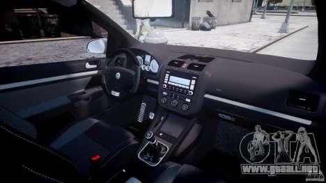 Volkswagen Golf GTI 2006 v1.0 para GTA 4 vista desde abajo