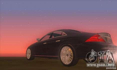 Mercedes-Benz CLS AMG para la visión correcta GTA San Andreas