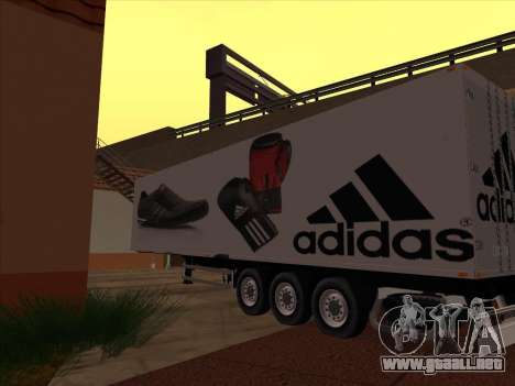 Remolque Adidas para la visión correcta GTA San Andreas