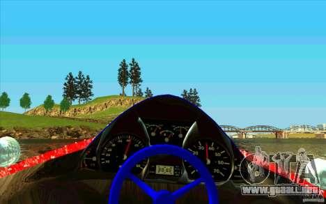 Race Boat para GTA San Andreas vista hacia atrás