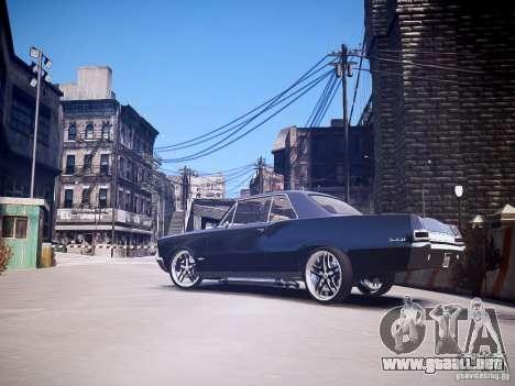 Pontiac GTO 1965 Custom discks pack 3 para GTA 4 left