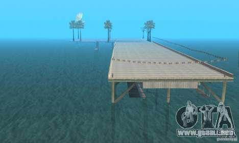 Dan Island v1.0 para GTA San Andreas segunda pantalla