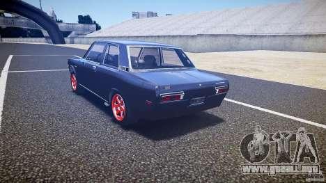 Datsun Bluebird 510 Tuned 1970 [EPM] para GTA 4 Vista posterior izquierda