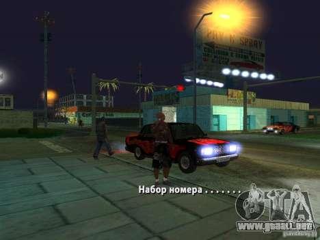 Killer Mod para GTA San Andreas quinta pantalla