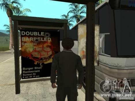 Línea de autobús en Las Venturas para GTA San Andreas quinta pantalla