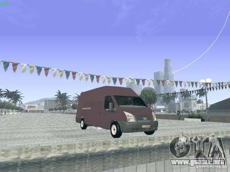 Ford Transit Jumbo 350L 2009 para la visión correcta GTA San Andreas