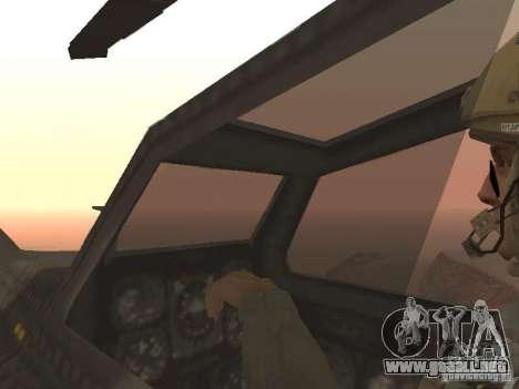 MI 28 Havok para vista inferior GTA San Andreas