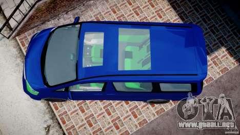 Toyota Alphard 2007 para GTA 4 visión correcta