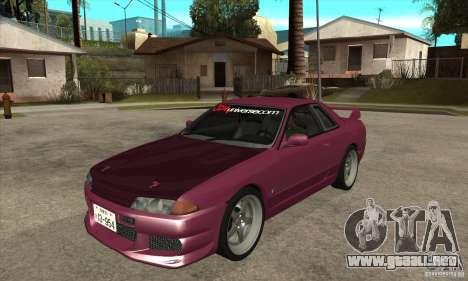 Nissan R32 JDM para GTA San Andreas