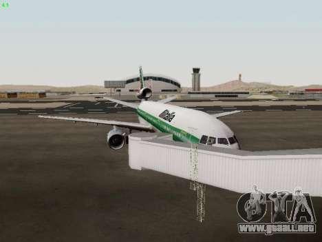 McDonell Douglas DC-10-30 Alitalia para visión interna GTA San Andreas