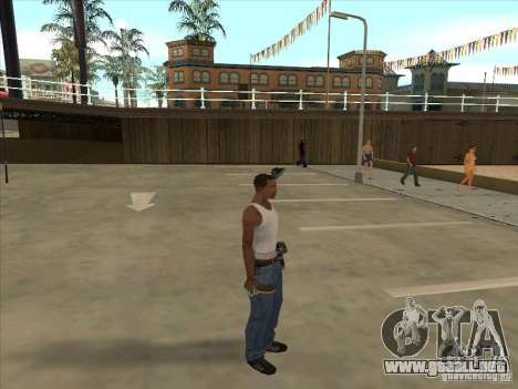 Raqueta de tenis para GTA San Andreas segunda pantalla