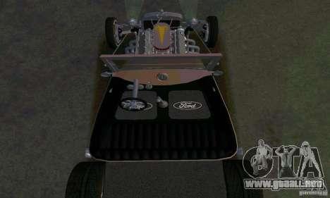 Ford T 1927 Hot Rod para la vista superior GTA San Andreas
