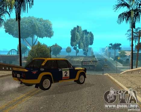 Fiat 131 Rally para la visión correcta GTA San Andreas
