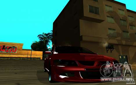 ENB para cualquier ordenador para GTA San Andreas twelth pantalla