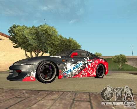 Toyota Supra by Cyborg ProductionS para visión interna GTA San Andreas
