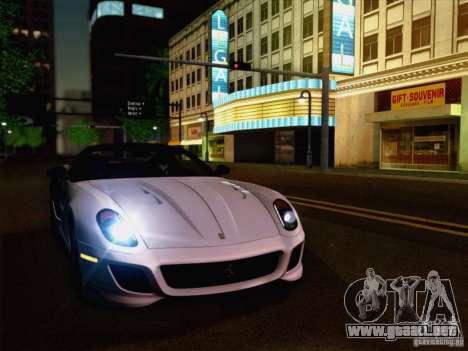 New Car Lights Effect para GTA San Andreas segunda pantalla