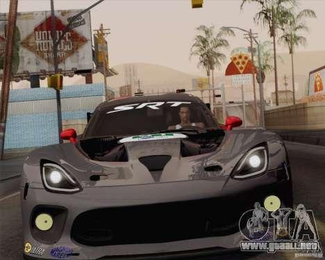 Optix ENBSeries para PC de gran alcance para GTA San Andreas segunda pantalla