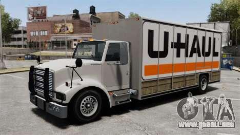 U-Haul camiones para GTA 4