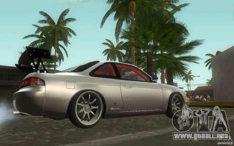 Nissan Silvia S14 Zenkitron para GTA San Andreas vista hacia atrás