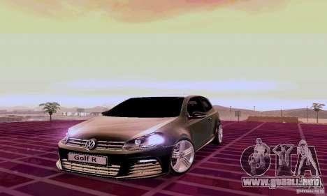 Volkswagen Golf GTI 2011 para GTA San Andreas