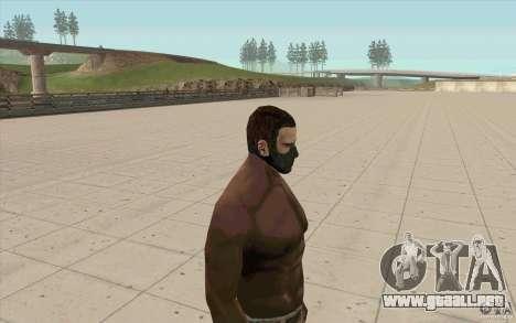 Máscara de acechador para GTA San Andreas segunda pantalla