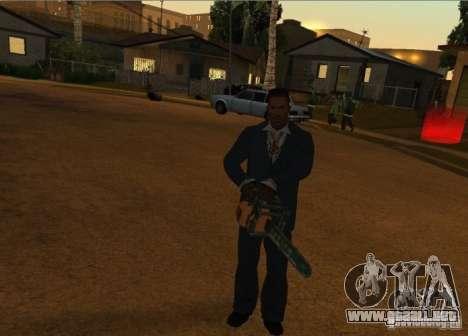 Pak domésticos armas versión 6 para GTA San Andreas quinta pantalla