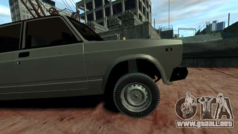 VAZ 2107 para GTA 4 visión correcta
