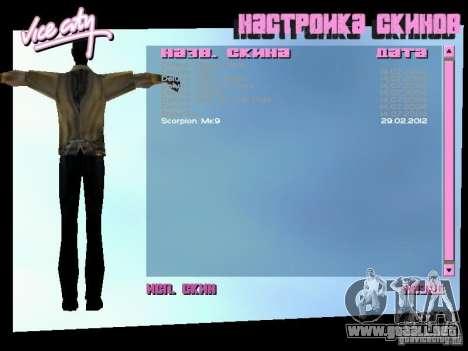 MK 9 Scorpion Costume para GTA Vice City tercera pantalla