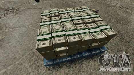 billetes de 100 dólares Reserva Federal de Estad para GTA 4 adelante de pantalla