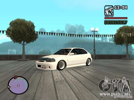 Honda Civic EK9 JDM para GTA San Andreas