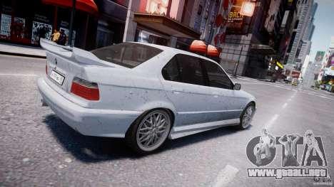 BMW 318i Light Tuning v1.1 para GTA 4 vista desde abajo