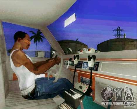 Ford Crown Victoria LTD 1991 LVMPD para visión interna GTA San Andreas
