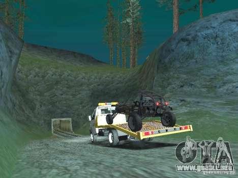 GAZ 3302 2003-2011. Camión de remolque para GTA San Andreas left
