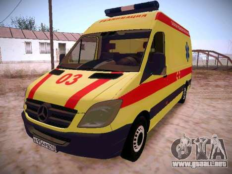 Mercedes Benz Sprinter Ambulance para GTA San Andreas