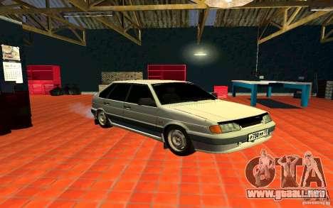 Ваз 2114 ruso para GTA San Andreas