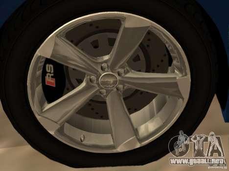 Audi TT RS para GTA San Andreas interior