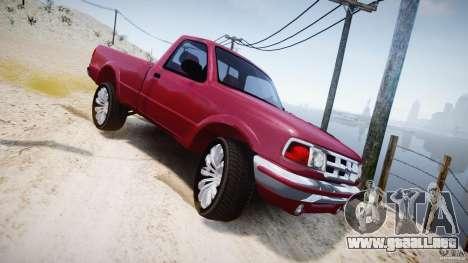 Ford Ranger para GTA 4 vista superior