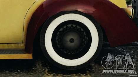Shubert Taxi para GTA 4 vista hacia atrás